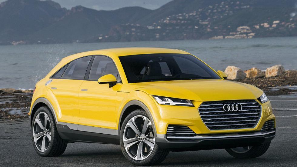 Audi TT Offroad tres cuartos detalle