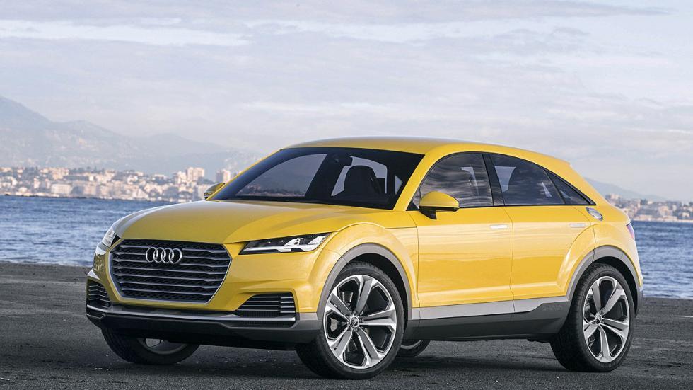 Audi TT Offroad tres cuartos detalle estático