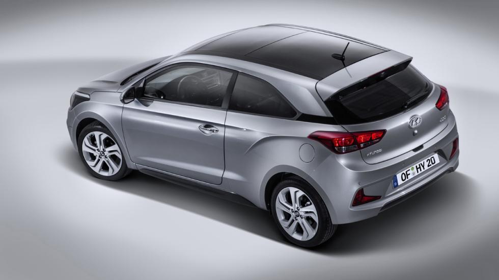 Hyundai i20 Coupe tres cuartos