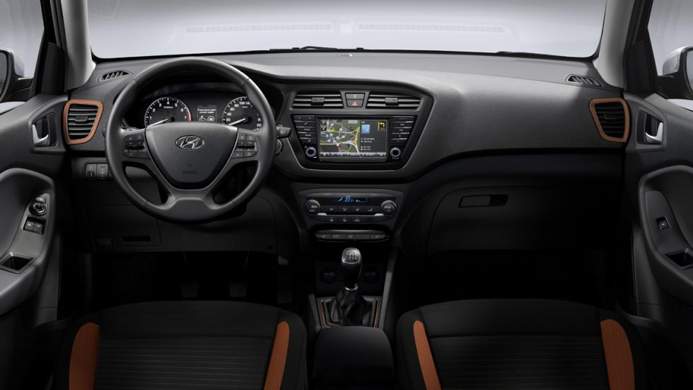 Hyundai i20 Coupe interior