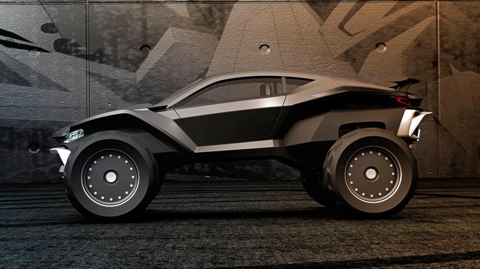 Sidewinder Gray Design perfil