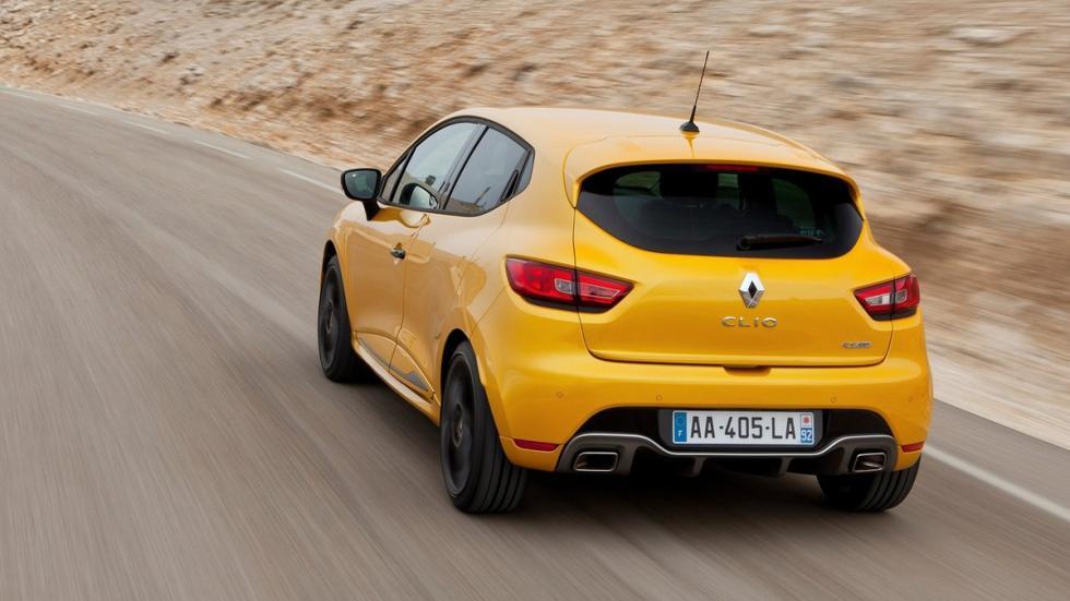rivales nuevo Mini John Cooper Works Renault Clio RS zaga