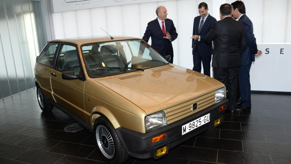 Primer coche de Felipe VI
