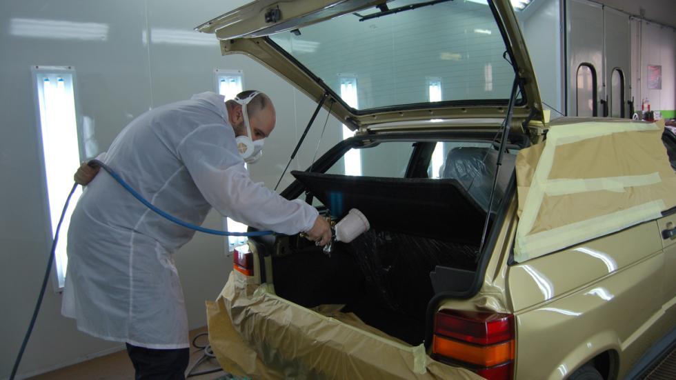 Primer coche de Felipe VI restauracion