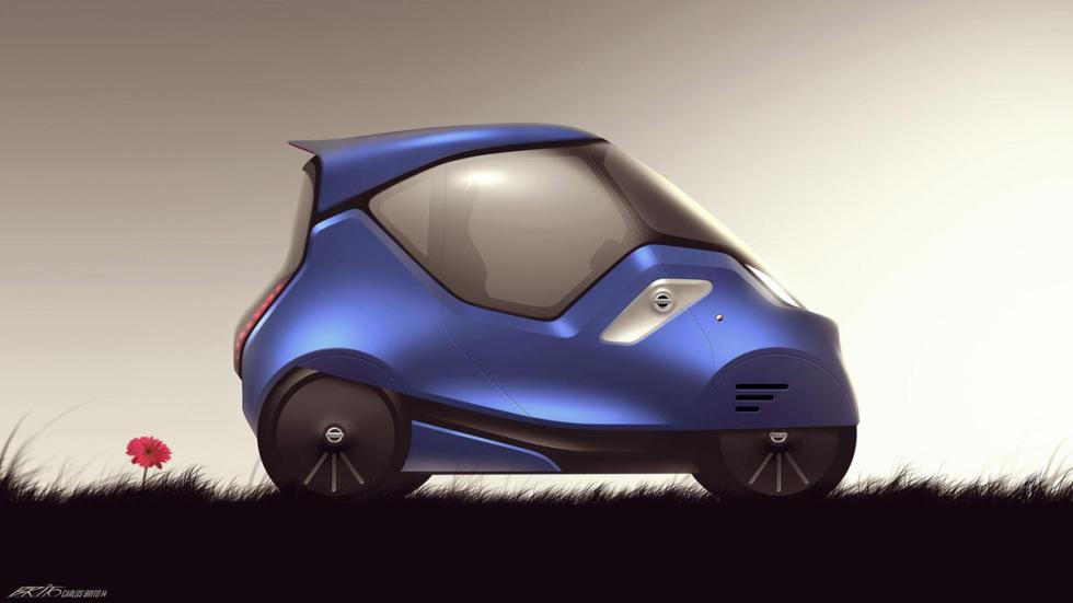 dibujo infantil prototipo Nissan 4x4 urbano