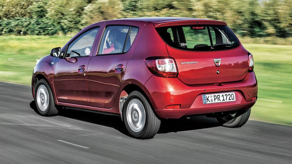 Dacia Sandero trasera
