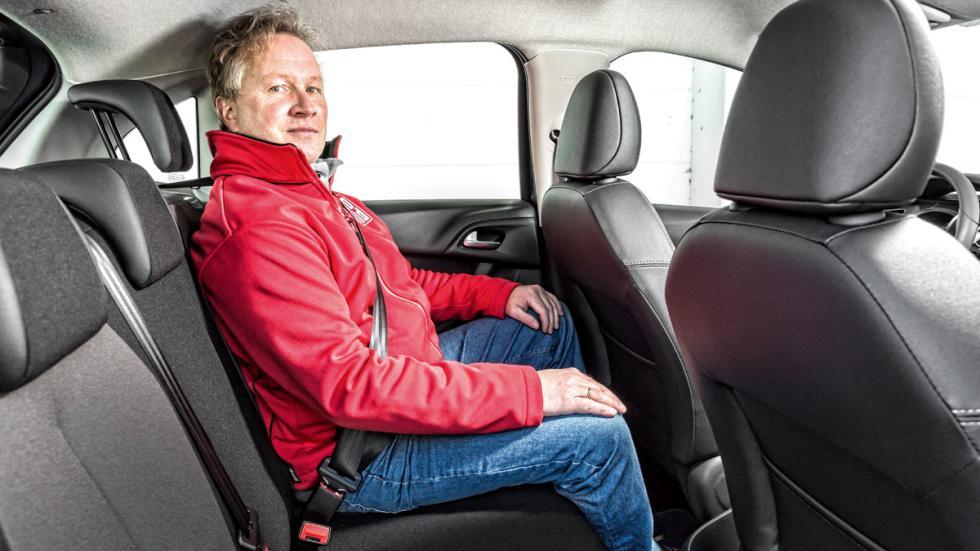 Citroën C3 plazas traseras