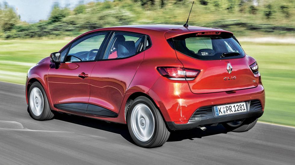 Renault Clio trasera