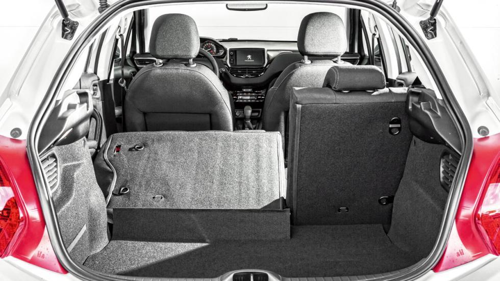 Peugeot 208 maletero
