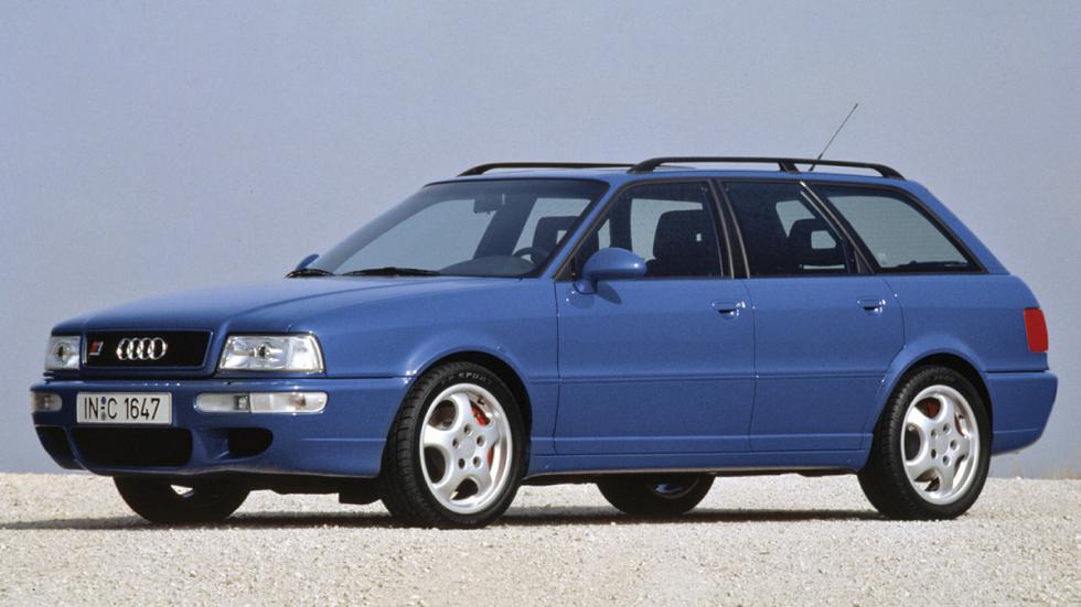 enemigos históricos bmw m3 Audi RS2