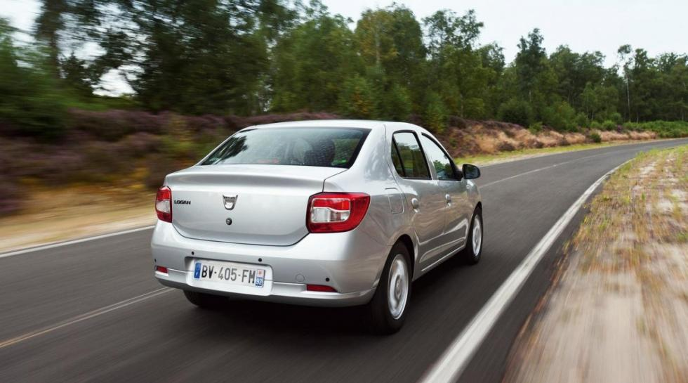 Dacia Logan 1.2 GLP trasera