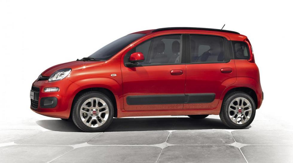 Fiat Panda 1.2 GLP lateral