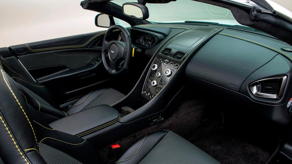 Aston Martin Works 60th Anniversary Vanquish interior