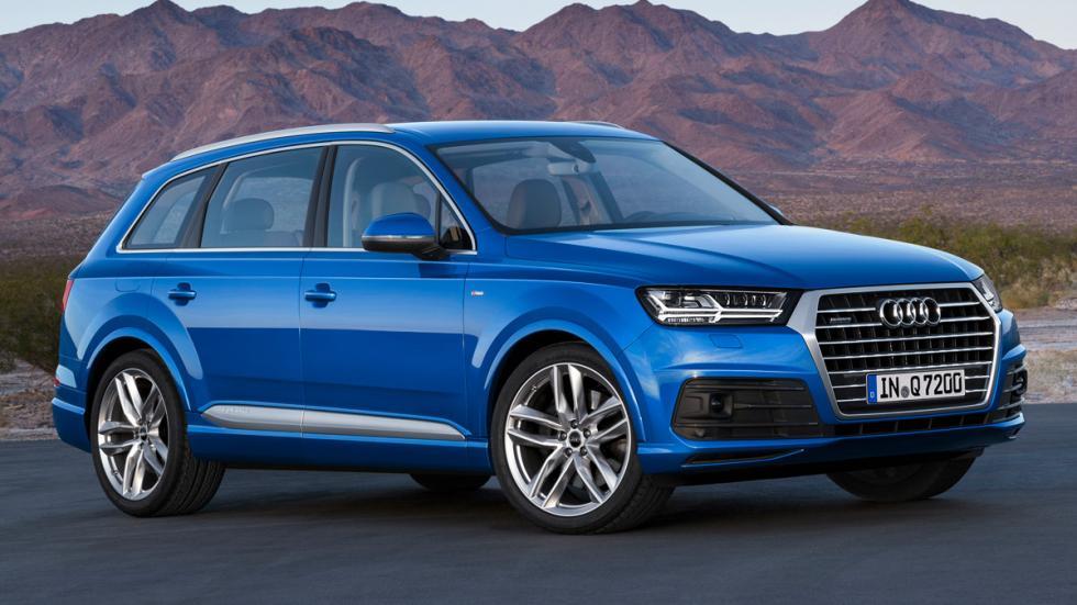 Audi Q7 2015 frontal