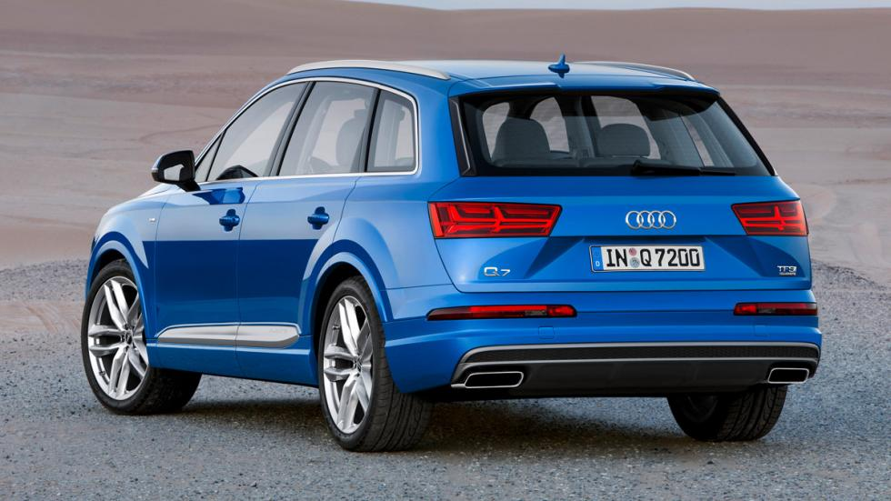 Audi Q7 2015 zaga
