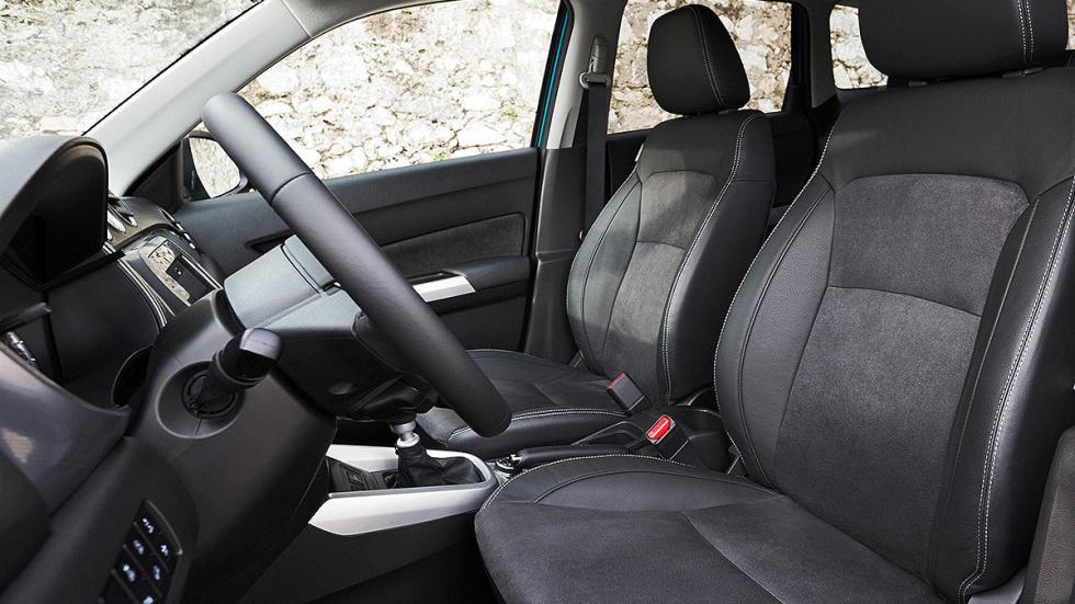Prueba Suzuki Vitara 2015 interior