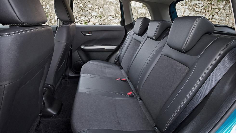 Prueba Suzuki Vitara 2015 plazas traseras