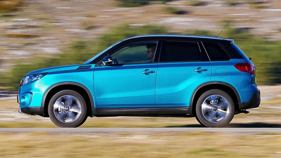 Prueba Suzuki Vitara 2015 lateral