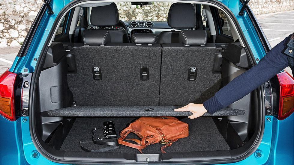 Prueba Suzuki Vitara 2015 plazas traseras y maletero