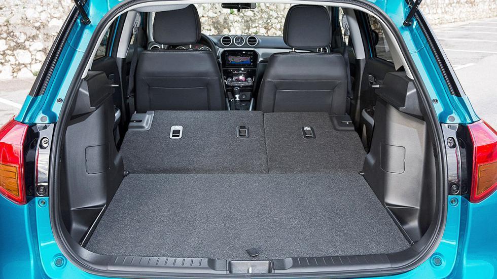 Prueba Suzuki Vitara 2015 plazas traseras y maletero plegado