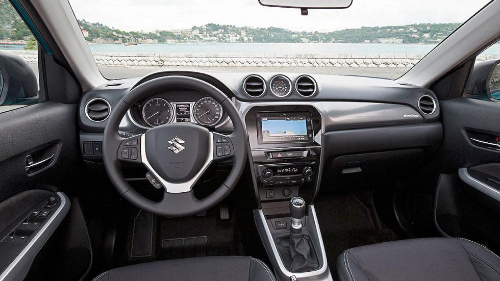 Prueba Suzuki Vitara 2015 salpicadero