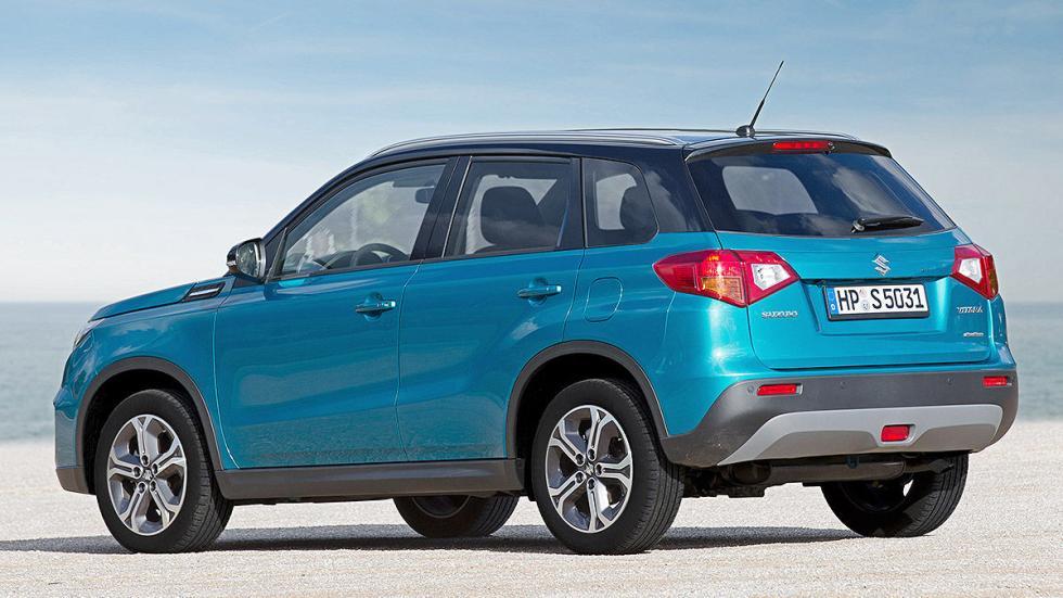 Prueba Suzuki Vitara 2015 zaga