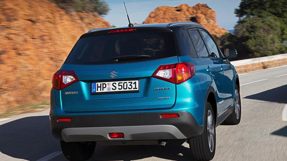 Prueba Suzuki Vitara 2015 zaga dinamica