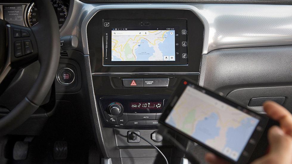 Prueba Suzuki Vitara 2015 smartphone