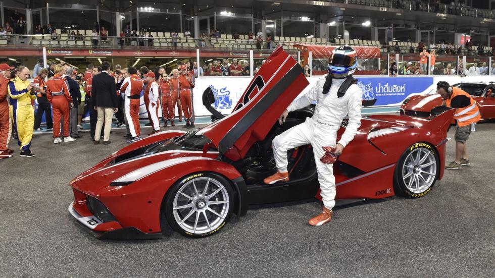 datos curiosos Ferrari FXX K puerta