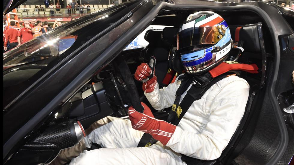 datos curiosos Ferrari FXX K piloto