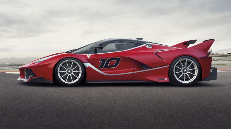 datos curiosos Ferrari FXX K perfil