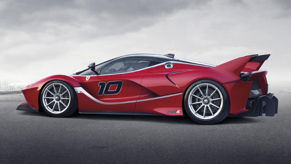 datos curiosos Ferrari FXX K tres cuartos