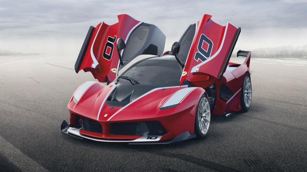 datos curiosos Ferrari FXX K frontal