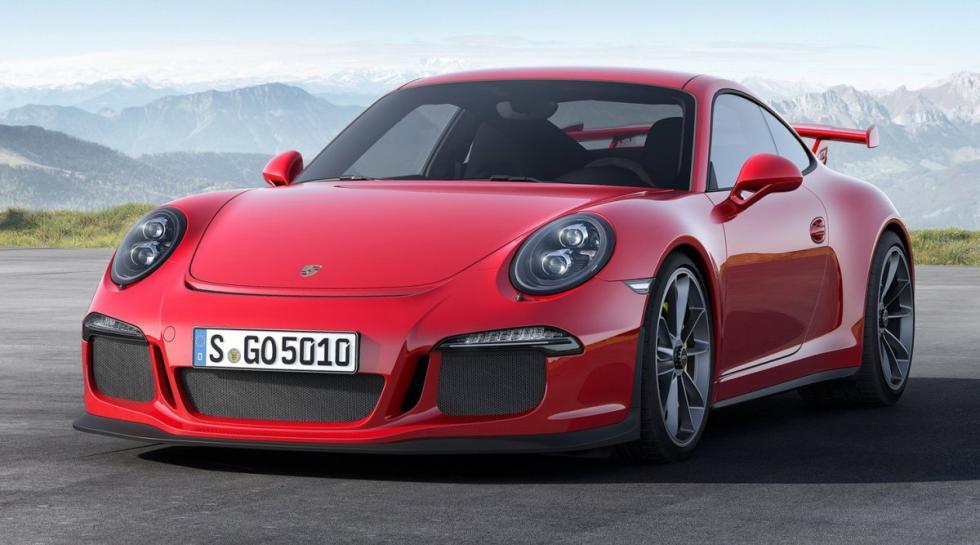Porsche 911 GT3 delantera