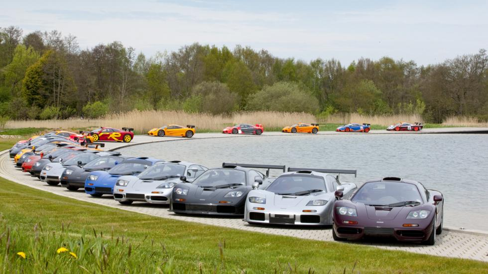 Curiosidades McLaren F1 familia