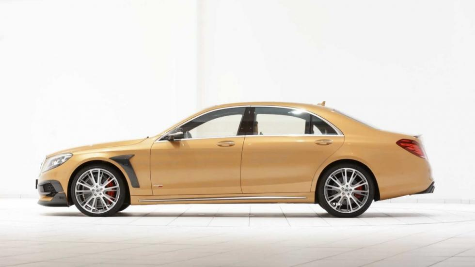 Mercedes S 63 AMG Brabus lateral