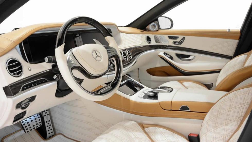 Mercedes S 63 AMG Brabus interior