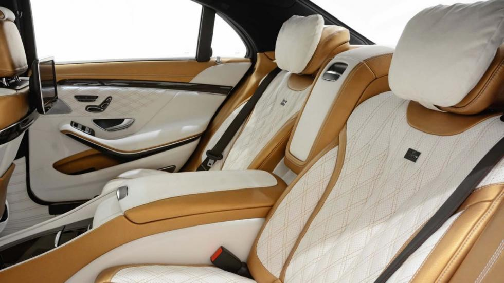 Mercedes S 63 AMG Brabus plazas traseras