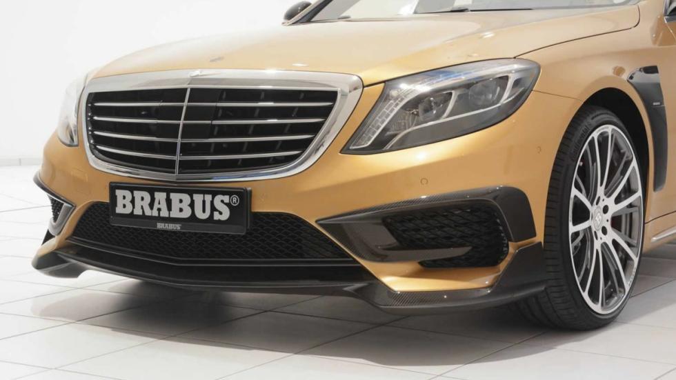 Mercedes S 63 AMG Brabus fibra carbono