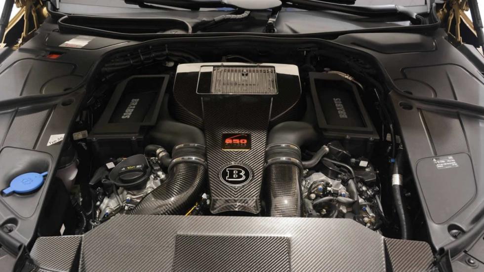 Mercedes S 63 AMG Brabus motor