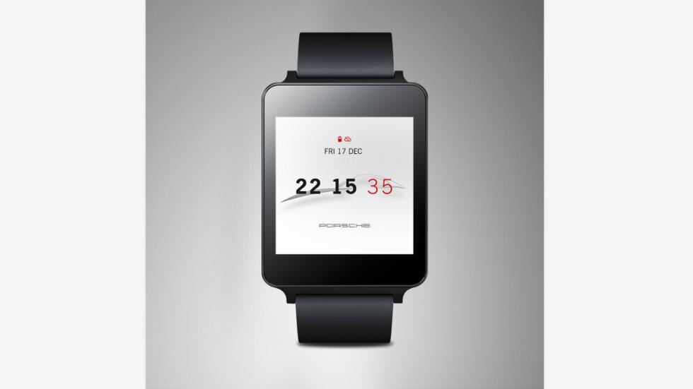 Porsche smartwatch cuadrado