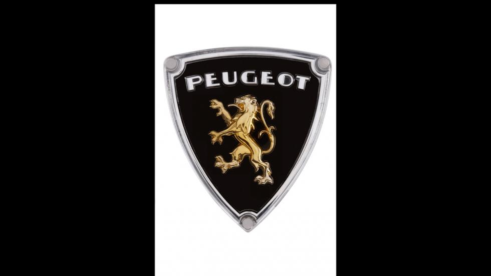 Logo Peugeot del año 1960