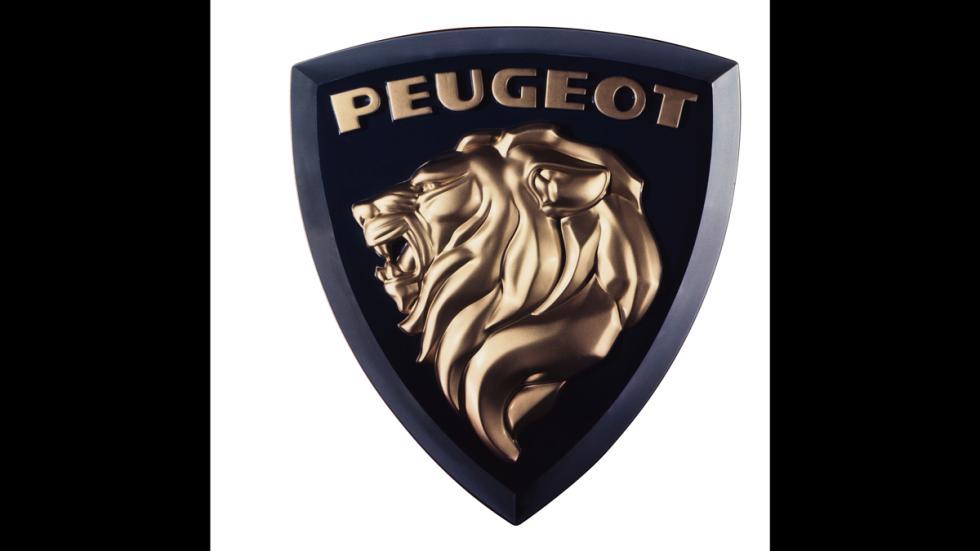 Logo Peugeot del año 1961