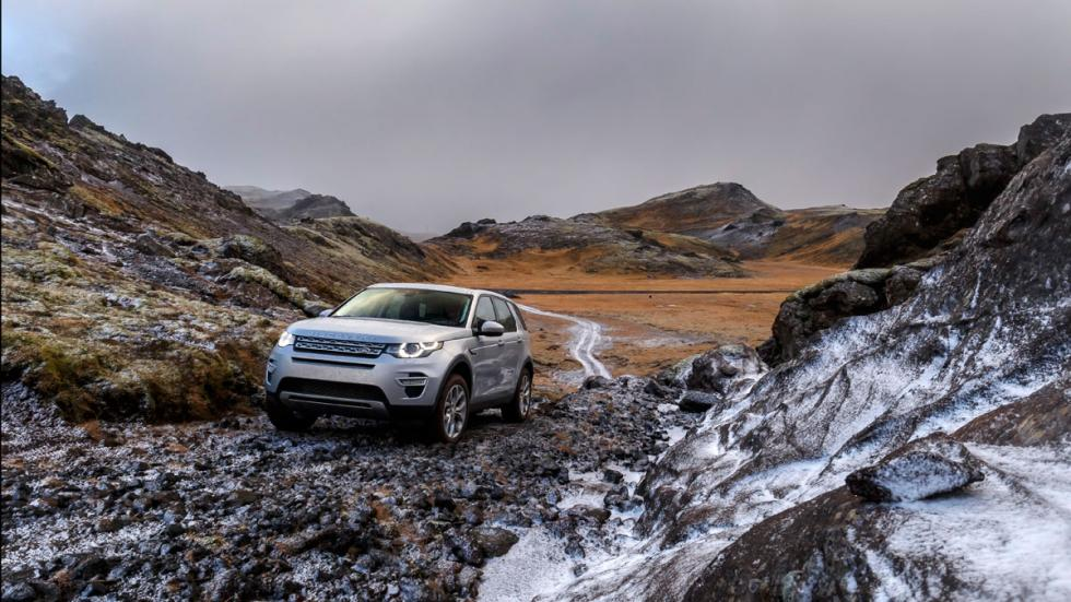 land rover discovery sport 2015 rocas
