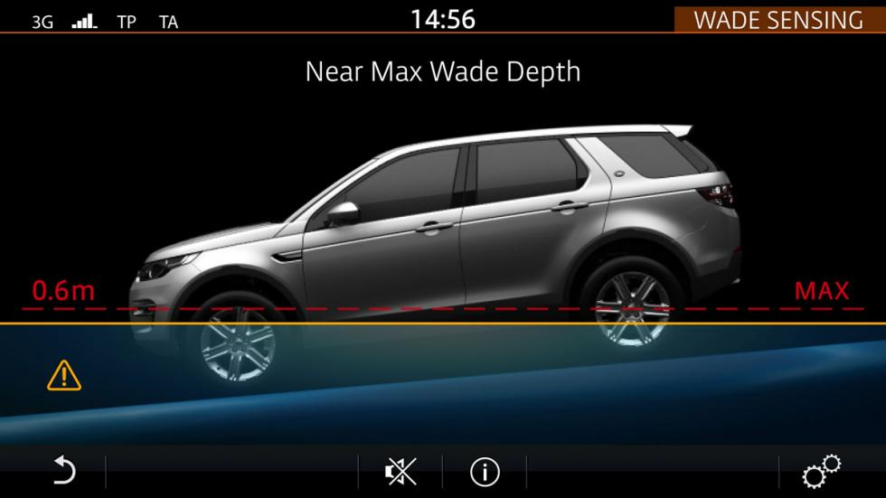 land rover discovery sport 2015 wade sensing