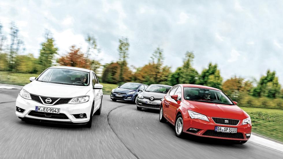 Comparativa Nissan Pulsar, Seat León, Renault Mégane y Hyundai i30
