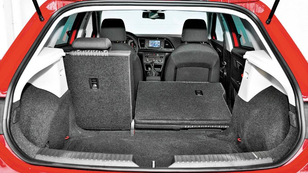 Seat León maletero