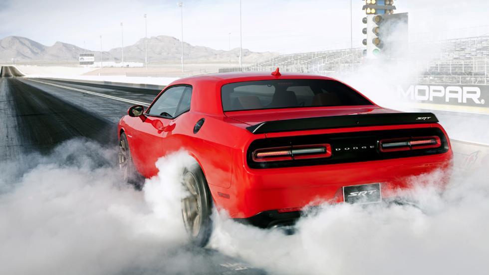 Mejores motores 2015 Dodge Challenger SRT Hellcat