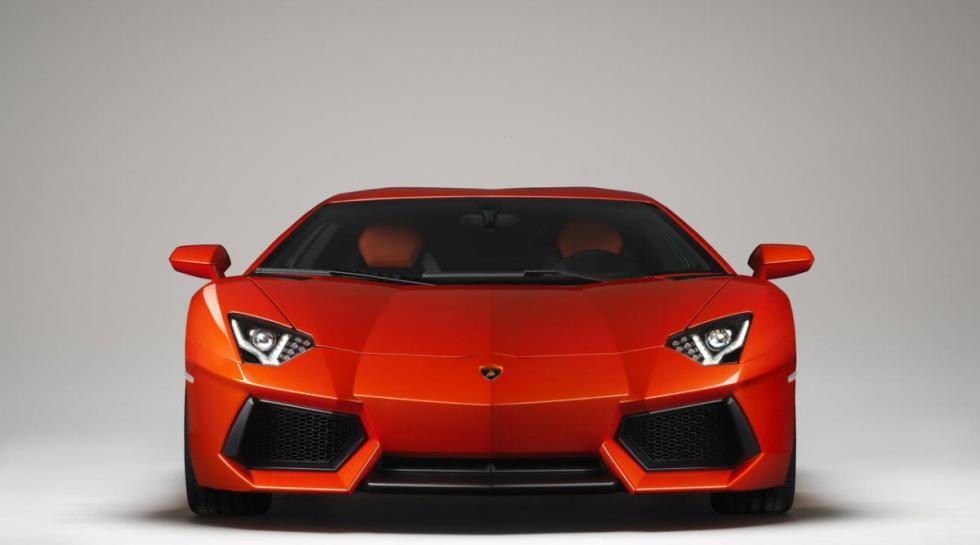 Lamborghini Aventador delantera