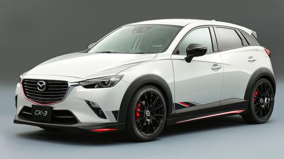 Mazda CX-3 tres cuartos delanteros
